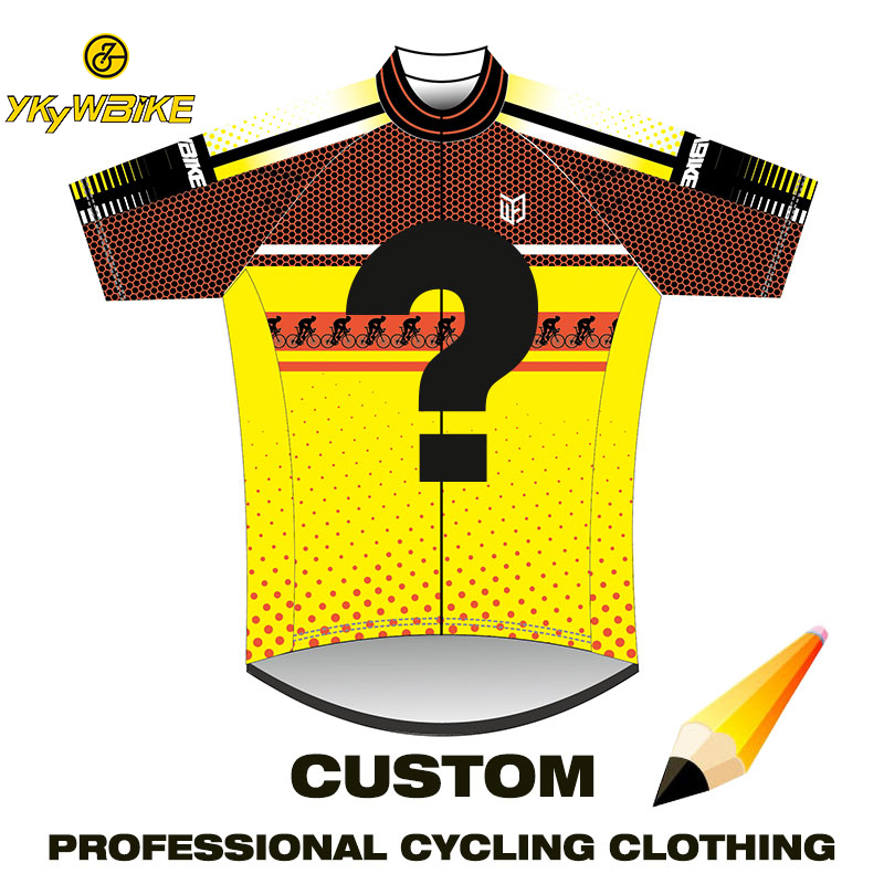 YKYWBIKE Custom Cycling Jersey Customized Cycling Clothing MTB Jersey Bicycle Clothes Downhill Jersey Maillot Ciclismo Hombre(China)