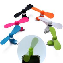 Portable Travel Gadget Flexible Mini Micro USB Fans for Samsung Xiaomi Android Phone Hand Fan