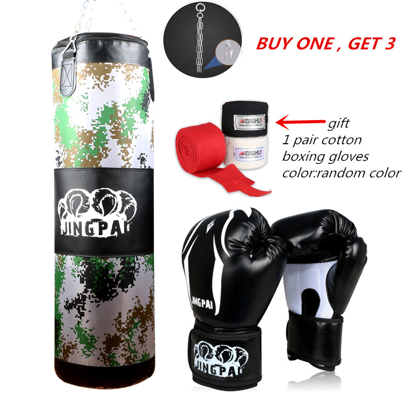 2016 New Army Green Red Empty Kick Boxing Bag Training Fitness Punching Bag Saco De Boxeo Hook Hanging MMA Fight Sandbag(empty) men fitness mma fight shorts