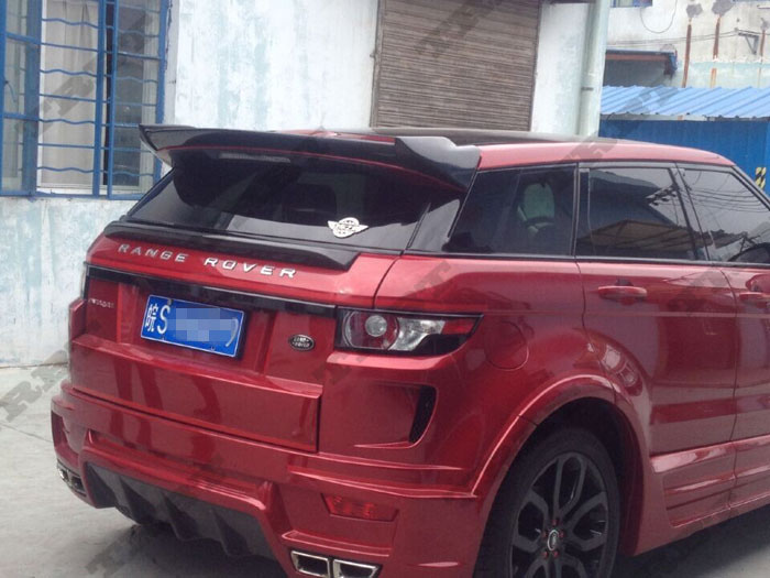 Evoque Carbon Fiber Rear Window Mount Spoiler Evoque Roof Spoiler Wing Tuning Parts Accessaries Case For Land Rover 2012 2013