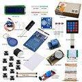 Starter Kit para Arduino Básico Suíte Aprendizagem RFID Kit UnO R3 Atualizada Do Motor de Passo LCD1602 LED Relé Buzzer EUA