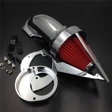 купить For Yamaha V-Star VSTAR V Star 650 (All Years) Motorcycle Air Cleaner Kit Intake Filter дешево