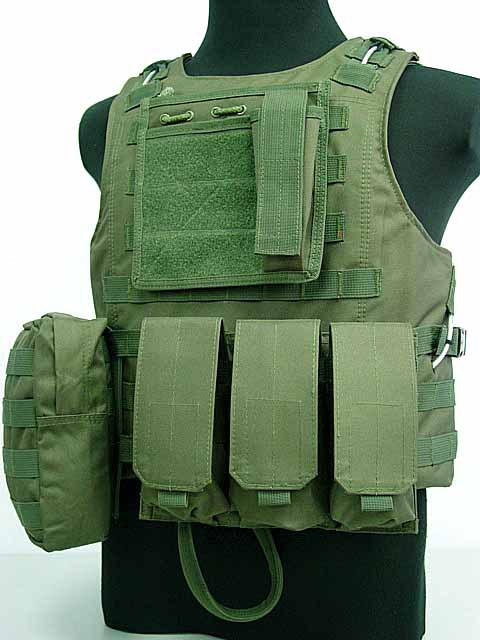 Airsoft Tactical Vest Military Amphibious Molle Vest Multicam Ver5 Modular Tactical Combat Vest Military Tactical Gear