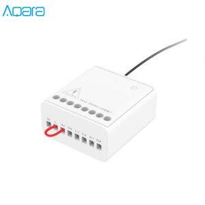 Image 2 - Aqara LLKZMK11LM Zwei weg Control Modul Drahtlose Relais Controller 2 Kanäle Arbeit Für smart home APP & Home Kit control Modul