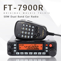 General Yaesu FT 7900R Car Mobile Radio Dual Band 10KM Two Way Radio Vehicle Base Station Radio Walkie Talkie Transceiver FT7900