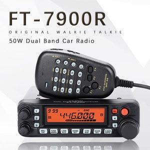Image 1 - Yaesu FT 7900R araba radyo VHF UHF iki yönlü telsiz iletişimci Walkie Talkie 50km araba interkom amatör radyo telsiz talkie Yaesu