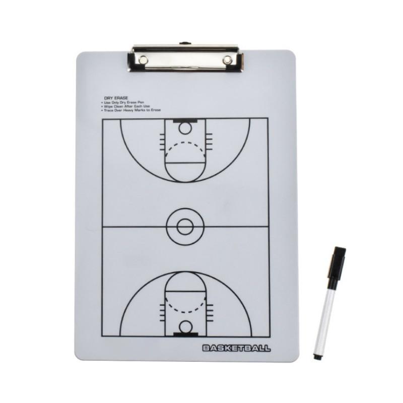 32.5*22.5 CM Tactical Board Marker Pen Portable Football Basketball Sport Strategy Board
