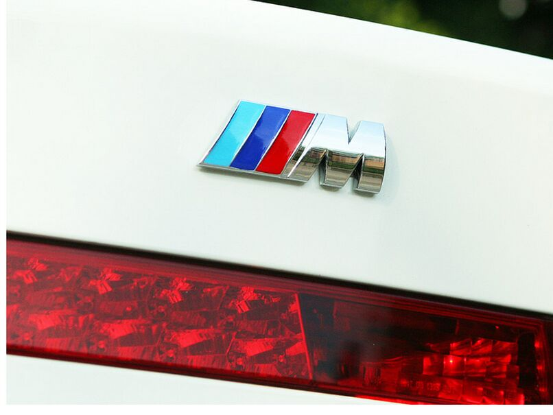 Excellent car styling Car Sticker M power Series Logo Emblem Badge Chrom 1 <font><b>3</b></font> <font><b>4</b></font> 5 6 <font><b>7</b></font> E Z <font><b>X</b></font> M2 M3 M4 M5 M6 Mline for BMW M