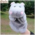 Hipopótamo Fantoche De Títeres de Animales Marioneta de Dedo Dedo Muñecas Bebés de Tela Bebé Juguetes Educativos Juguetes de Peluche Animales de Zoológico