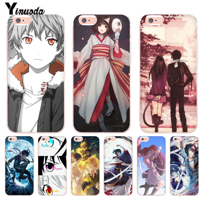 Yinuoda Anime Yukine Noragami slim New Arrival Fashion phone case cover for iPhone 8 7 6 6S Plus X 10 5 5S SE XR XS MAX Cover