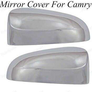 Casal Acessórios 2 pcs Deep Color Rear View Mirror Capas Para TOYOTA/Camry 2012-2014 Guarnição Styling Auto ABS Chrome