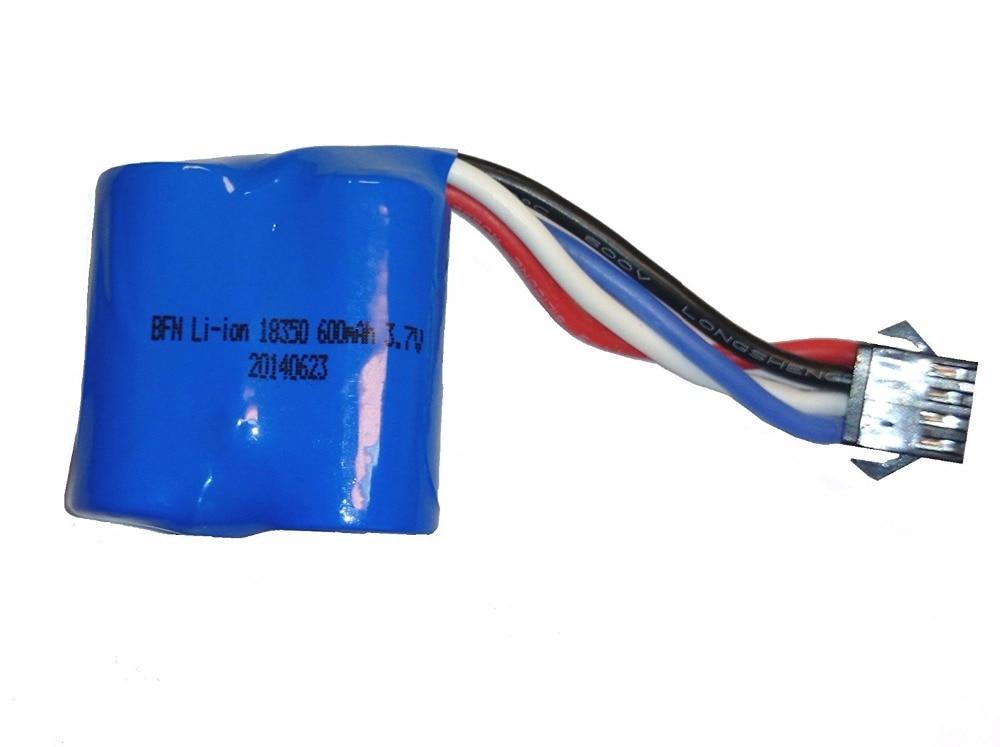 UDI RC Replacement battery for UDI R/C UDI001 Venom Speed Boat 3.7V 600mAh Li-ion