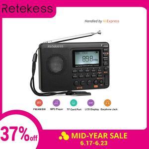 RETEKESS V115 Radio Receiver F