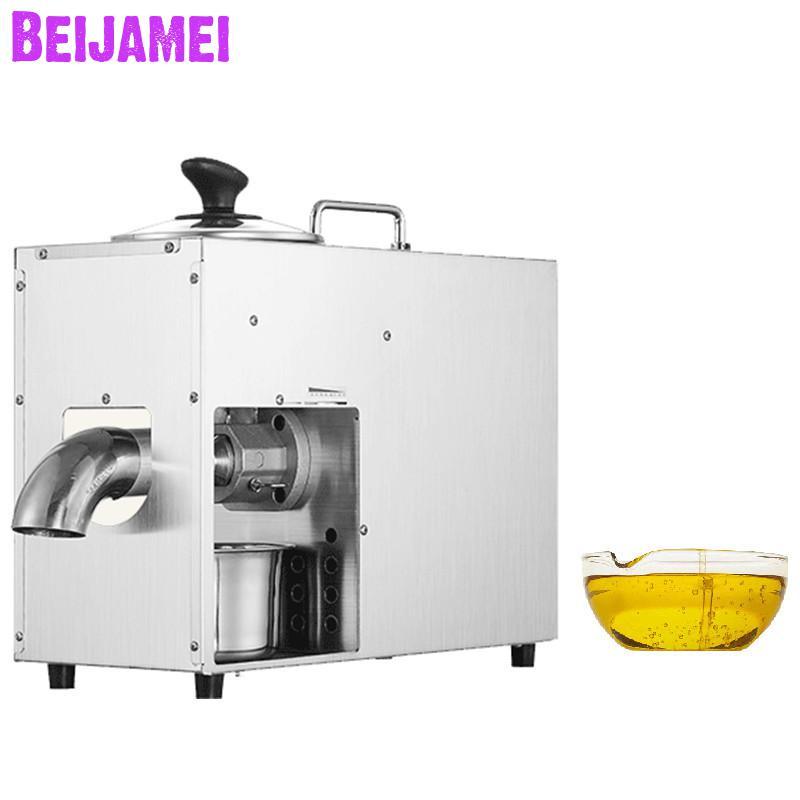 BEIJAMEI высокая скорость производства масла пресс производитель электрический коммерческий арахиса, ядра грецкого ореха, миндаль Горячий Хол