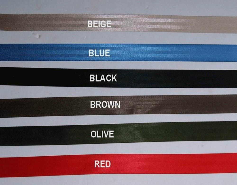 100 մետր Roll Seat Belt Webbing Safety Strap Colors 48 մմ - Ավտոմեքենայի ներքին պարագաներ - Լուսանկար 3