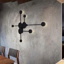 Винтажный креативный настенный светильник для гостиной, 6 головок, светодиодный светильник для спальни, столовой, настенный светильник, промышленный Лофт-деко