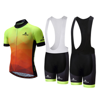 Men S Cycling Maillot Jersey And Bibs Padded GEL Sets Bike Bicycle Shirts Bib Shorts Suit