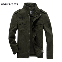 BSETHLRA 2017 Bomber Jacket Men Autumn Winter Army Military Outerwear Jaqueta Masculino Casual Windbreak Coat Male