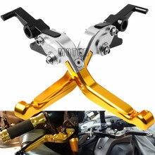 Для YAMAHA FZ6 фазер 2004-2010 FZ6R 2009- ФЗ 6 R Регулируемый выдвижной складной Мотоциклы сцепные рычаги ручками