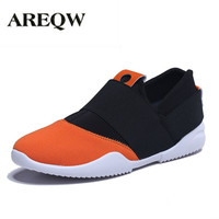 AREQW 2017 Spring And Summer New Fashion Casual Breathable Shoes Elastic Pedal Lazy Shoes Trend Men