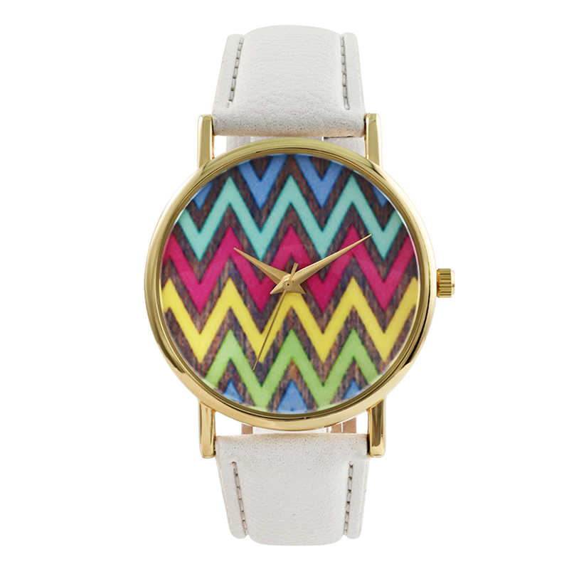 white strap bird watch blue color lovely girl watch high qualtity band chic design fashionable lady watches gold color