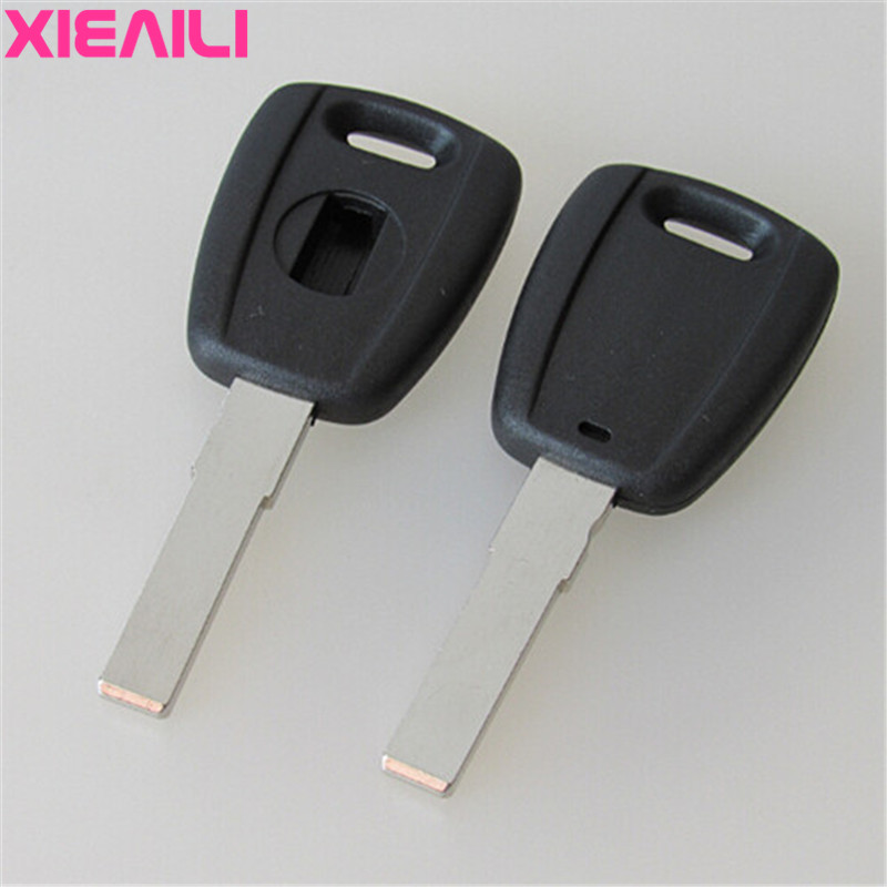 Auto Replacement Parts Ignition System Xieaili 10pcs Transponder Remote Key Case Shell For Fiat Palio/siena Key Fob Case S103