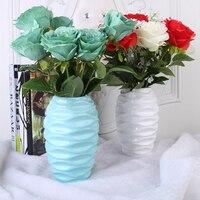 Chinese Vase Modern Minimalist Pottery Ceramic Vase Small Fresh Living Room Bedroom Office Flower Arrangement Small Ornaments 3