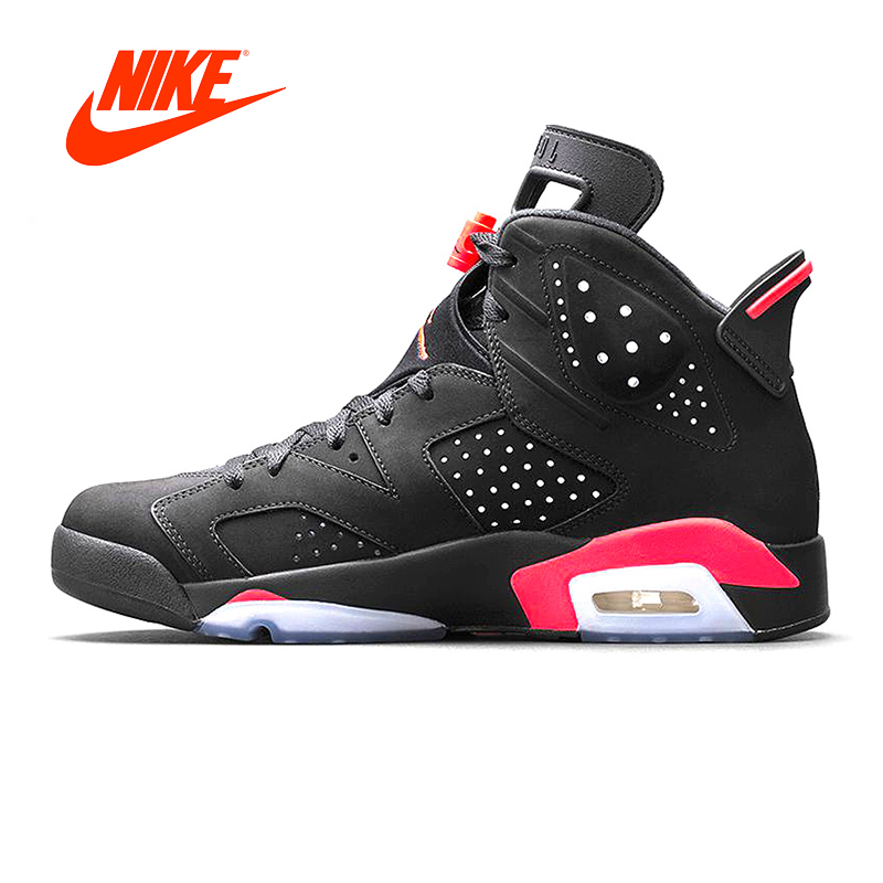Original New Arrival Authentic NIKE Air Jordan 6 Retro UNC Men Basketball Shoes Sneakers Sport Outdoor Good Quality 384664-023