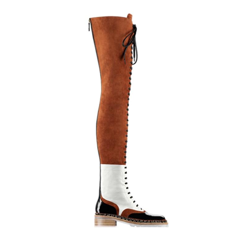 Cheap White Thigh High Boots