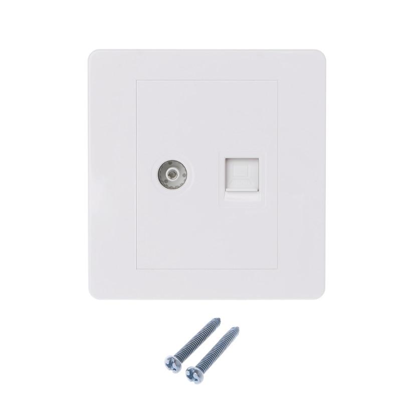 RJ45 Network Adapter+<font><b>TV</b></font> <font><b>Antenna