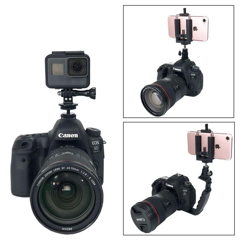 Mount Camera-Accessories Video-L-Bracket Photography Canon Dslr Gopro Standard-Flash