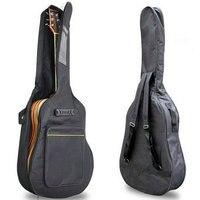 40 41 Acoustic Guitar Double Straps Padded Guitar Soft Case Gig Bag Backpack