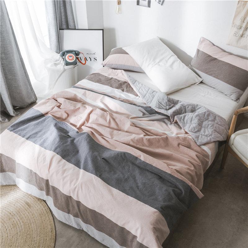 lightweight king bedspread tufted cotton bedspread stripe plaid coverlvet comforter set lightweight quilted bed spread duvet blanket summer quilt king size hot sale