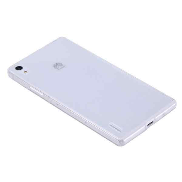 Carcasa de silicona TPU delgada para Sony Xperia Z3 M4 Z5 Z4 Ultra delgada transparente parte posterior transparente cubierta Capa para C3 D2533 M8 Funda bolsas