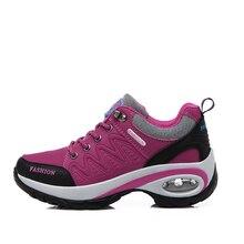 Для женщин Открытый Пеший Туризм обуви против скольжения Для женщин дышащая Водонепроницаемый треккинговые ботинки спортивные Восхождение Спорт Спортивная обувь Mountain Сапоги и ботинки для девочек