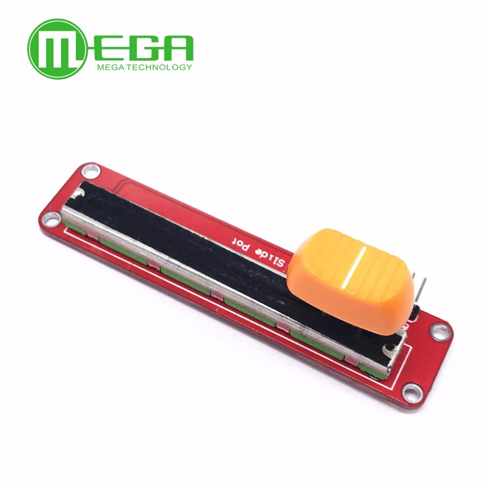 Electronic Block 10K Sliding Slider Potentiometer Module For Arduino For MCU For ARM For Other Single Chip Micro Wholesale