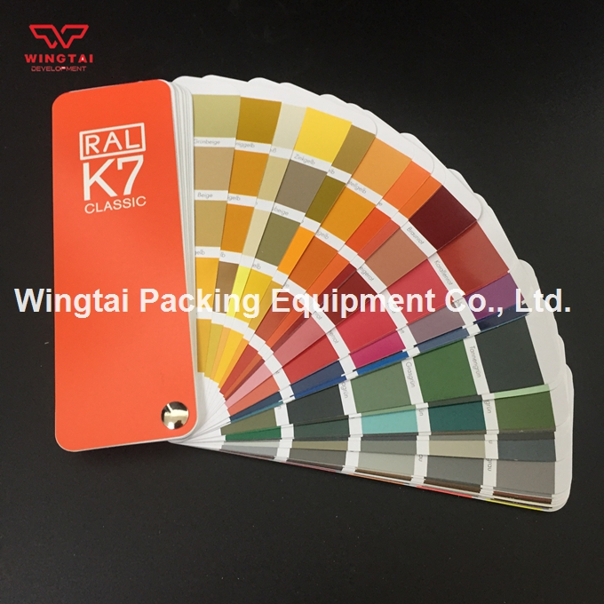 1 book 20*50mm 213 Kinds New RAL K7 Classic Colors Guide Ral Color Chip original authentic germany ral k7 color chart