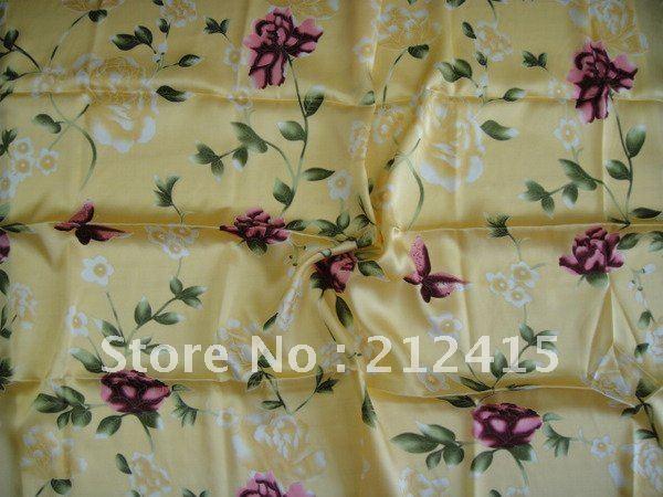 Gratis verzending / 100% zijde stof / # LS0713 zijde stof voor - Kunsten, ambachten en naaien