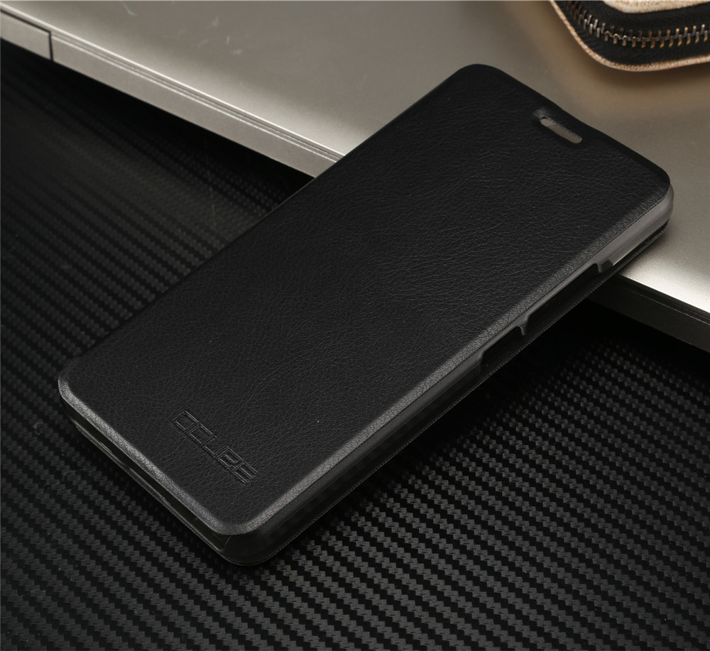 oukitel k6000 plus Case Luxury Pu Leather Flip Cover with Stand Holder Back Cover Original design