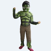 The Avengers Costumes The Hulk Cosplay Halloween Costumes For Children Fantasia Disfraces Game Uniforms Free Shipping