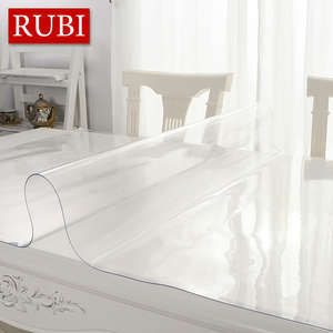 RUBIHOME PVC Table Cloth Waterproof Party Wedding Kitchen