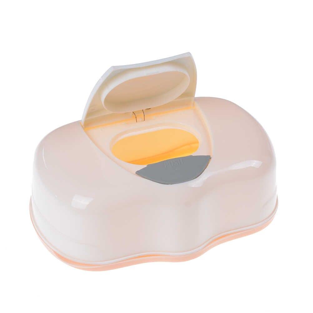 Коробка для влажных салфеток пластиковый Автоматический чехол для салфеток детские салфетки пресс всплывающий дизайн детские салфетки органайзер для хранения домашних аксессуаров