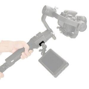 Image 5 - Kamera Monitor Montage Platte Video Verlängerung Adapter Für DJI Ronin S Gimbal Extender Stabilisator mit 1/4 Schraube Für magie Arm Mic