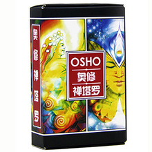 OSHO Tarot Cards Divination Cards Game 12*7cm Cards Chinese Version For Family/Friends