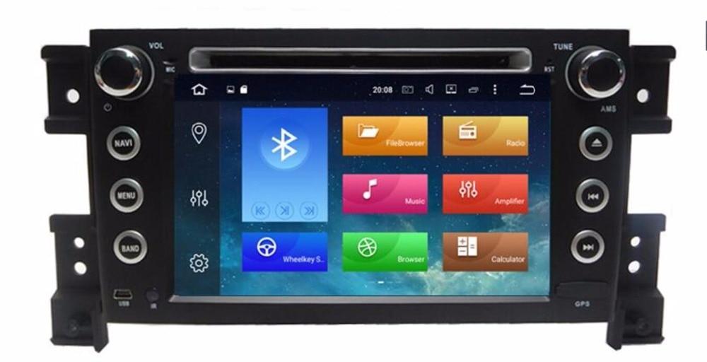 4G + 32G Android 8.0 octa core 7 pouces 2 din lecteur Radio DVD de voiture gps pour Suzuki grand vitara unité de tête stéréo de voiture avec WIFI BT RDS