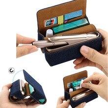 JINXINGCHENG moda yeni kapak cüzdan kılıfı kılıf IQOS için 3 kılıf kapak için IQOS 3.0 koruyucu aksesuarları