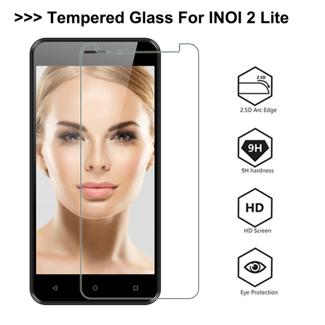 Tempered Glass For INOI 2 Lite Screen Protector 9H Explosion-proof Protective Glass On Inoi 2 Inoi 2lite Film Screen Cover Phone