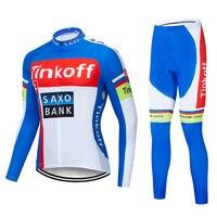 2019 Tinkoff saxo bank Long Sleeve Maillot Ropa Ciclismo Cycling Jerseys/Autumn Mountain Bicycle Clothing/Racing Bike