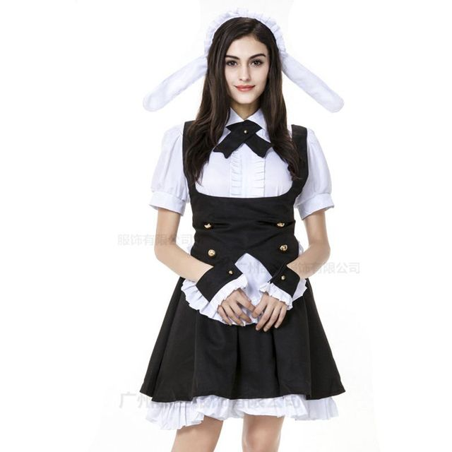 Oktoberfest Maid cosplay costume maid dress disfraz halloween sexy costumes women halloween disfraces mujer halloween victorian  sc 1 st  AliExpress.com & Oktoberfest Maid cosplay costume maid dress disfraz halloween sexy ...