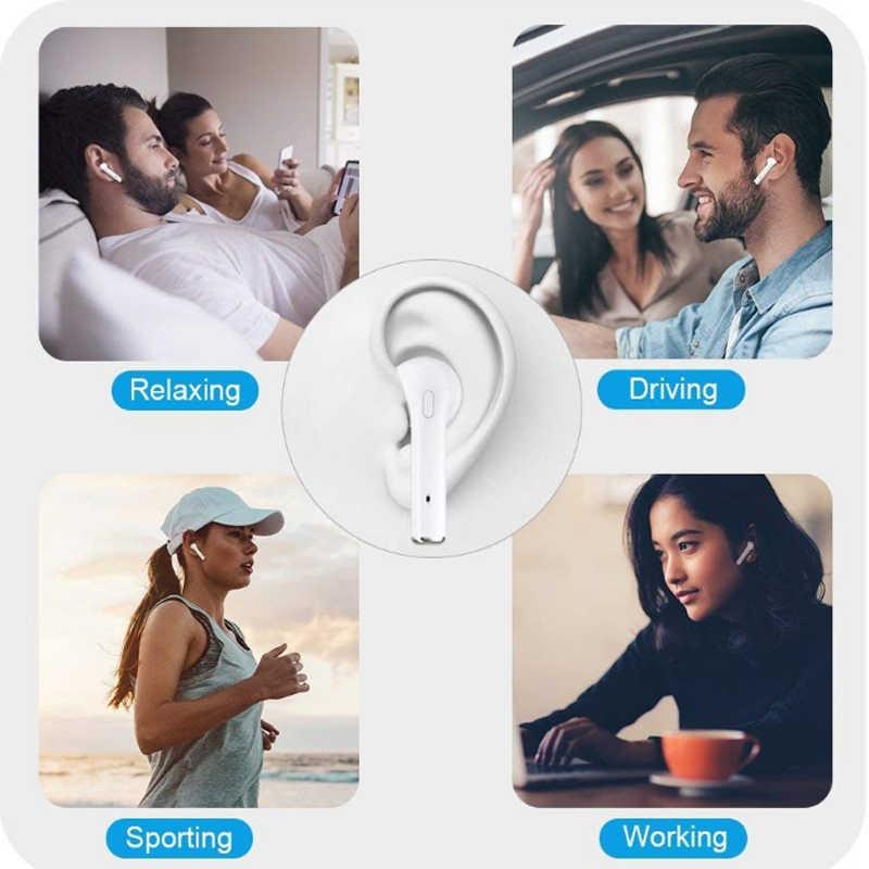 Przenośny zestaw głośnomówiący TWS i7 prawdziwe stereo słuchawka Bluetooth bezprzewodowy słuchawki z mikrofonem